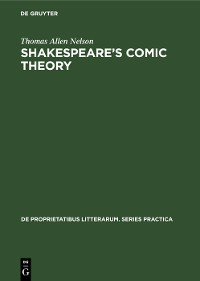 Cover Shakespeare's comic theory
