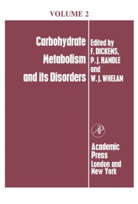 Cover Carbohydrate Metabolism