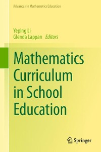 Cover Mathematics Curriculum in School Education