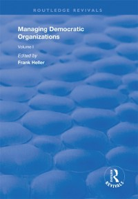 Cover Managing Democratic Organizations I