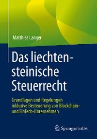 Cover Das liechtensteinische Steuerrecht