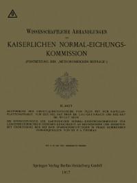 Cover Bestimmung der Oberflachenspannung von Olen mit dem Kapillar-Plattenapparat
