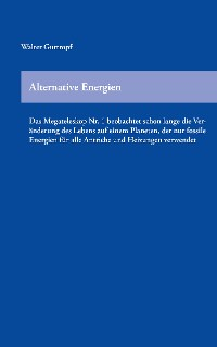 Cover Alternative Energien