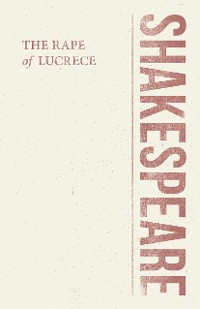 Cover The Rape of Lucrece