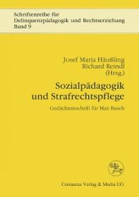 Cover Sozialpadagogik und Strafrechtspflege
