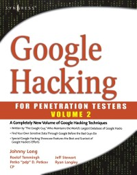 Cover Google Hacking for Penetration Testers