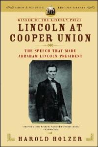 Cover Lincoln at Cooper Union