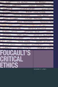 Cover Foucault's Critical Ethics