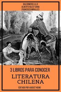 Cover 3 Libros para Conocer Literatura Chilena