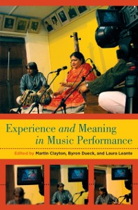 Cover Experience and Meaning in Music Performance
