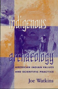 Cover Indigenous Archaeology