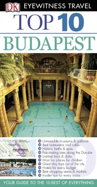 Cover DK Eyewitness Top 10 Travel Guide: Budapest