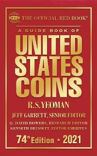 Cover A Guide Book of United States Coins MEGA RED 5th Edition