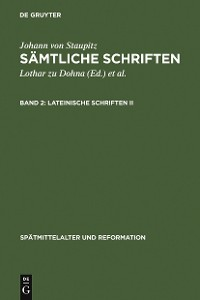 Cover Lateinische Schriften II