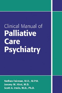 Cover Clinical Manual of Palliative Care Psychiatry
