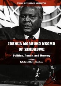 Cover Joshua Mqabuko Nkomo of Zimbabwe