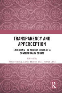 Cover Transparency and Apperception