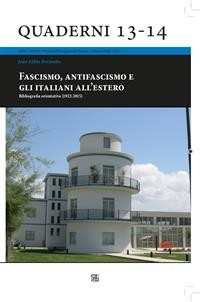 Cover Fascismo, antifascismo e gli italiani all'estero