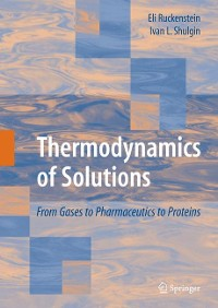 Cover Thermodynamics of Solutions