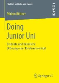 Cover Doing Junior Uni