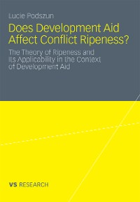 Cover Does Development Aid Affect Conflict Ripeness?