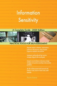Cover Information Sensitivity A Complete Guide - 2020 Edition