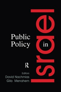 Cover Public Policy in Israel