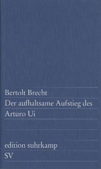 Cover Der aufhaltsame Aufstieg des Arturo Ui