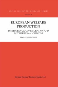 Cover European Welfare Production