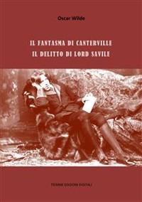 Cover Il fantasma di Canterville, Il delitto di Lord Savile