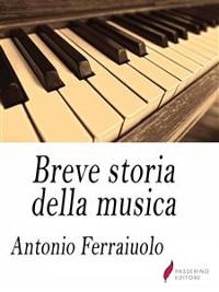 Cover Breve storia della musica