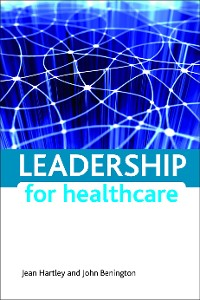 Cover Leadership for healthcare