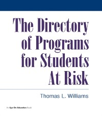 Cover Directory of Programs for Students at Risk
