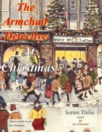 Cover Armchair Detective At Christmas