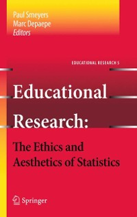Cover Educational Research - the Ethics and Aesthetics of Statistics
