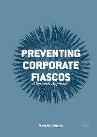 Cover Preventing Corporate Fiascos