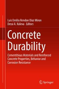 Cover Concrete Durability