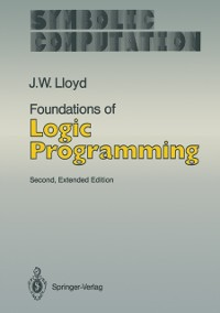 Cover Foundations of Logic Programming