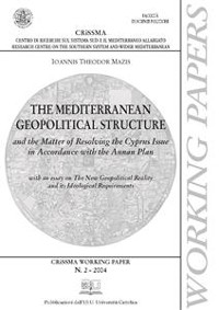 Cover The mediterrean geopolitical structure