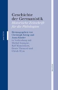 Cover Geschichte der Germanistik