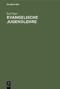 Cover Evangelische Jugendlehre