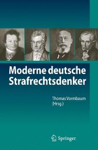 Cover Moderne deutsche Strafrechtsdenker
