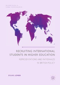 Cover Recruiting International Students in Higher Education