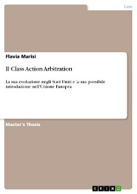 Cover Il Class Action Arbitration