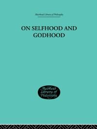Cover On Selfhood and Godhood