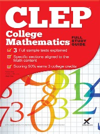 Cover CLEP College Mathematics 2017