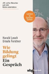 Cover Wie Bildung gelingt