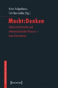 Cover Macht:Denken
