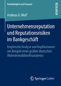 Cover Unternehmensreputation und Reputationsrisiken im Bankgeschäft