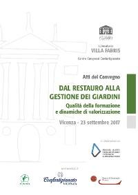 Cover Dal restauro alla gestione dei giardini